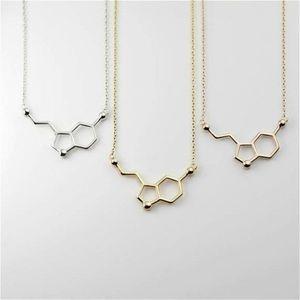 Jewelry - Serotonin Molecule Necklace